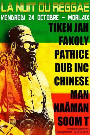 La Nuit du Reggae 2014