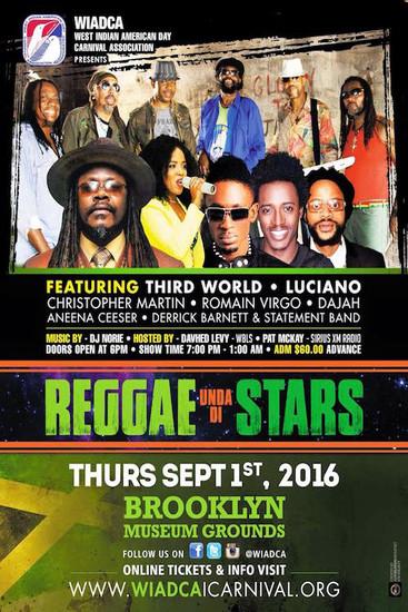 Reggae Under Di Stars 2016