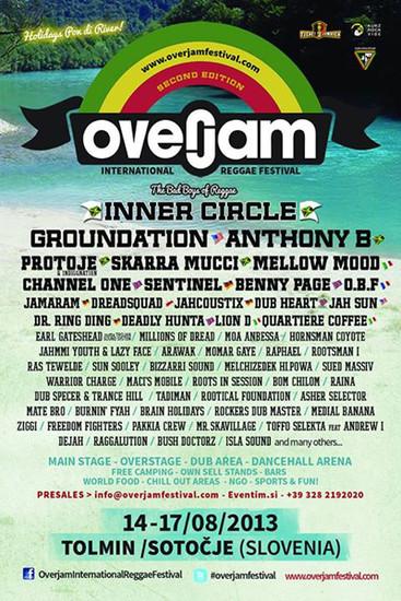 Overjam Reggae Festival 2013