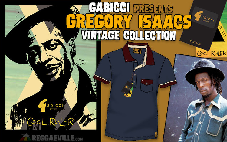 Gregory Isaacs - Gabicci Vintage Collection 2020