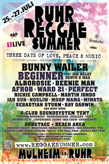 Ruhr Reggae Summer 2014