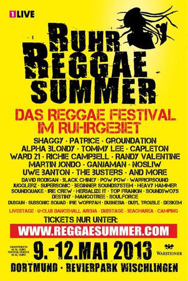 Ruhr Reggae Summer - Dortmund 2013