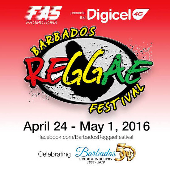 Barbados Reggae Beach Party 2016