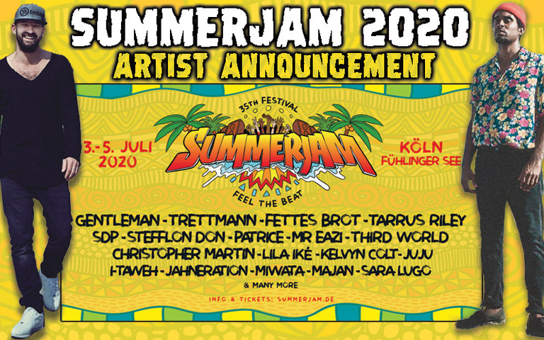Gentleman, Patrice & Trettmann @ SummerJam 2020
