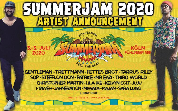 Gentleman, Patrice & Trettmann @SummerJam 2020