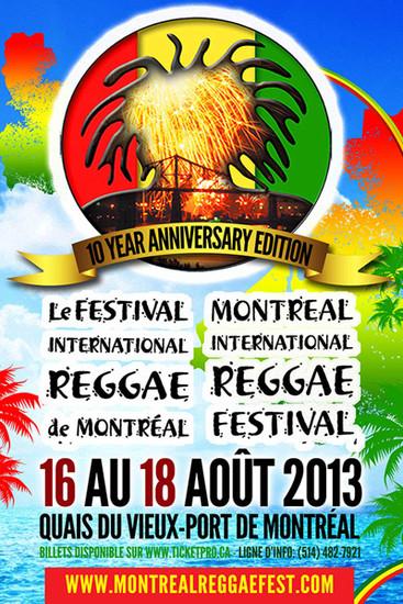 Montreal Reggae Festival 2013