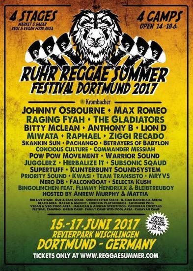 Ruhr Reggae Summer - Dortmund 2017