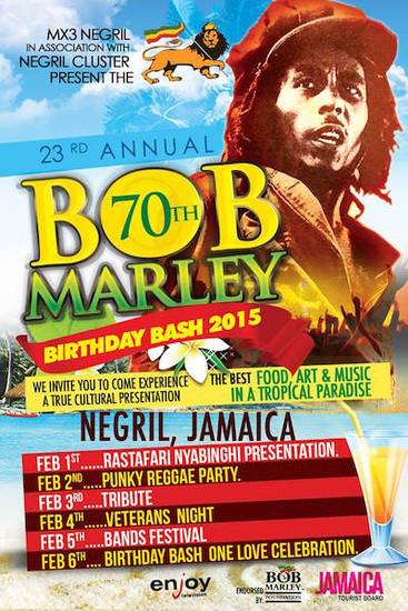 Bob Marley Birthday Bash 2015