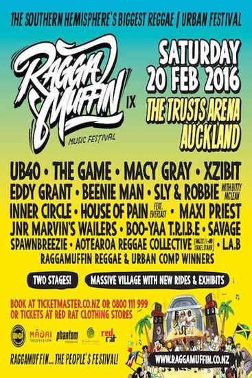 Raggamuffin Festival 2016