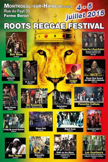 Roots Reggae Festival 2015
