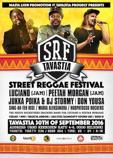 Street Reggae Festival 2016