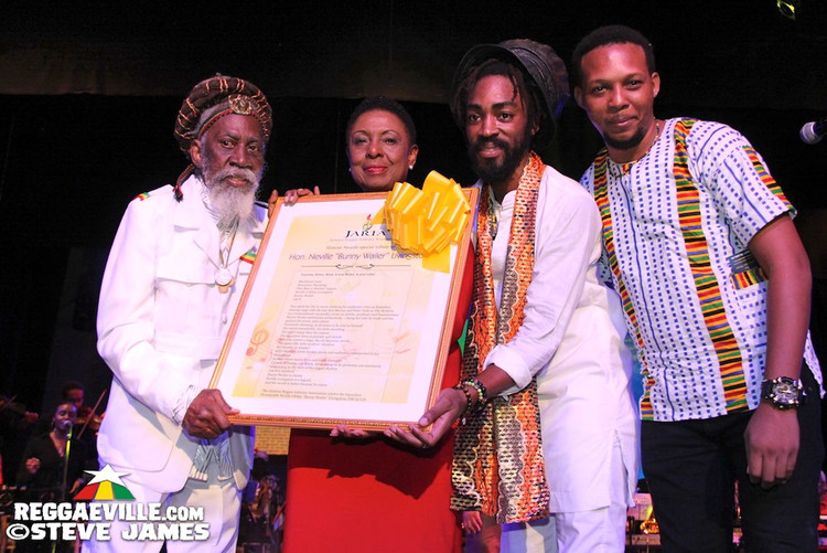 Bunny Wailer, Mortimer, Julian Marley, Abby Dallas