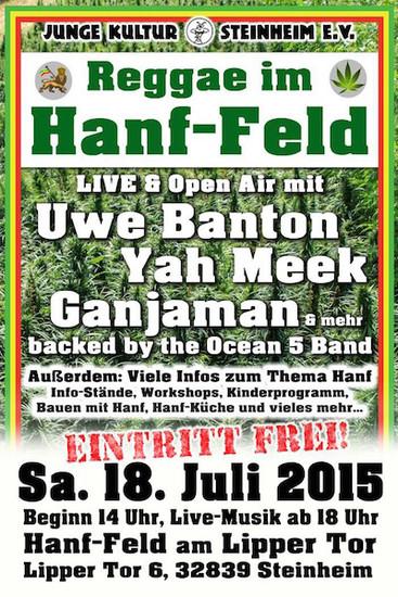 Reggae im Hanf-Feld 2015