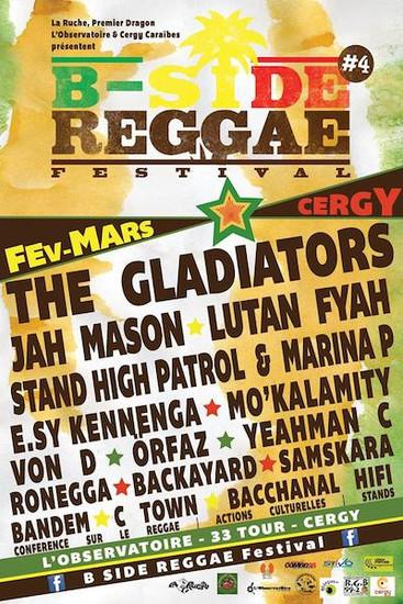 B-Side Reggae Festival 2014