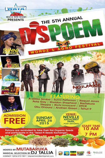 Dis Poem Wordz & Agro Festival 2015