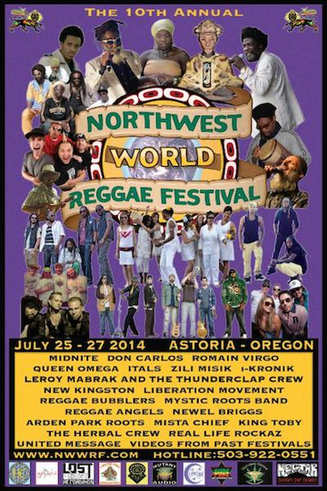 NW World Reggae Festival 2014