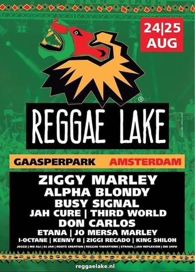 Reggae Lake Festival Amsterdam 2019