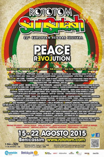 Rototom Sunsplash 2015
