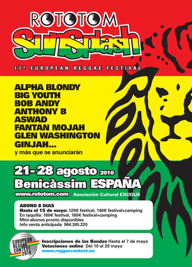 Rototom Sunsplash 2010