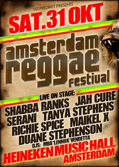 Amsterdam Reggae Festival 2009