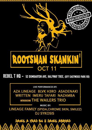 Rootsman Skankin' 2019