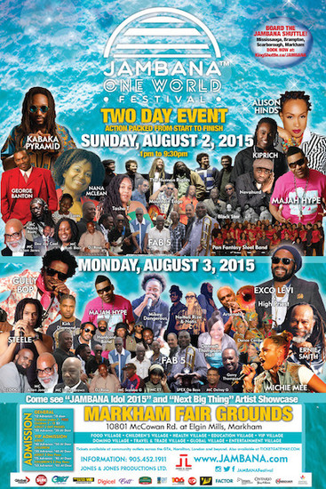Jambana One World Festival 2015
