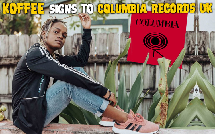 Koffee Signs To Columbia Records UK