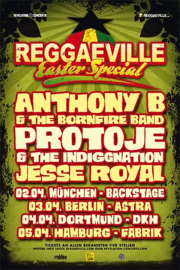 Reggaeville Easter Special - Hamburg 2015