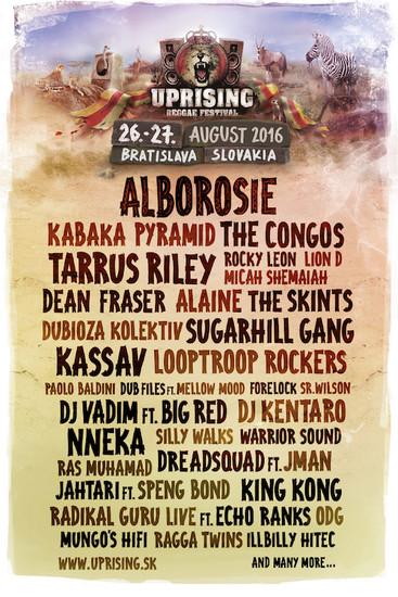 Uprising Reggae Festival 2016