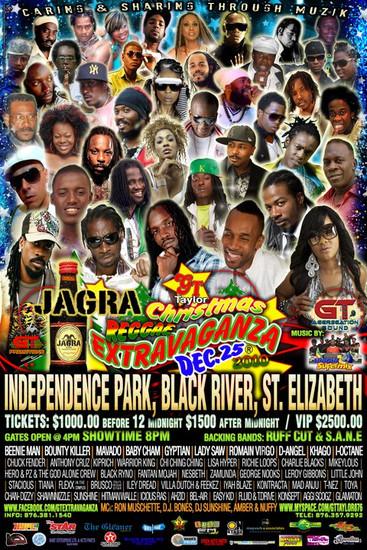 Christmas Reggae Extravaganza 2010