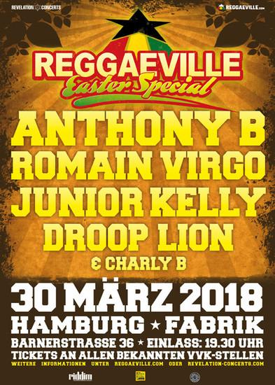 Reggaeville Easter Special - Hamburg 2018