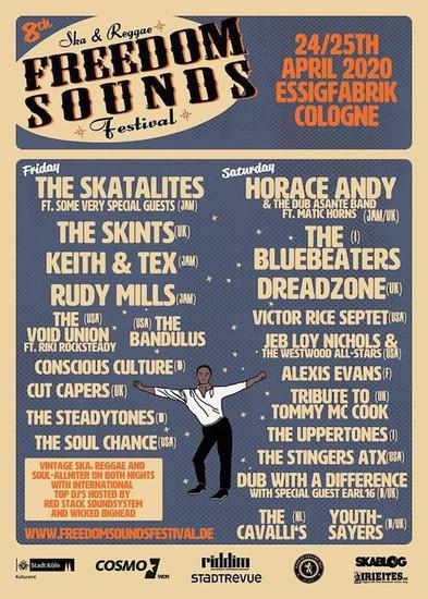 POSTPONED: Freedom Sounds Festival 2020
