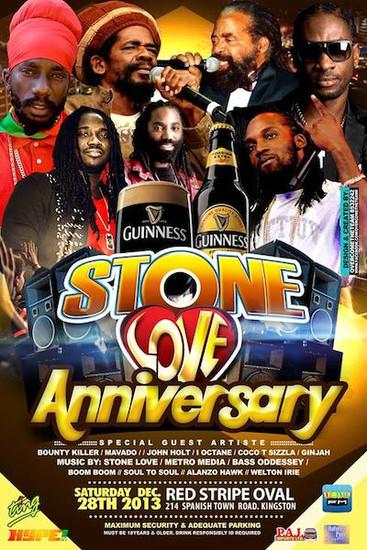 Stone Love Anniversary 2013
