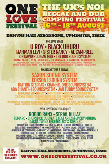 One Love Festival 2013