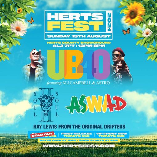 UB40 & Aswad 8-15-2021