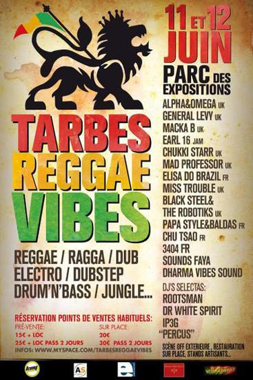 Tarbes Reggae Vibes 2011