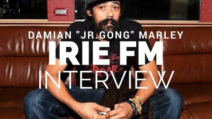 Interview with Damian Marley after winning the Grammy @ Irie FM [1/31/2018]