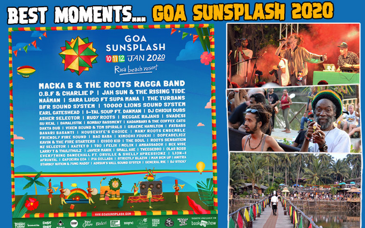 Best Moments... Goa Sunsplash Festival 2020
