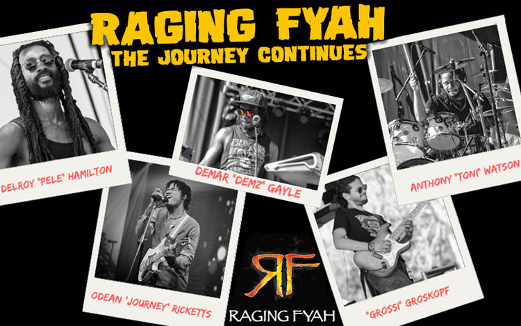 Raging Fyah Introduces New Lead Singer Odean 'Journey' Rickets