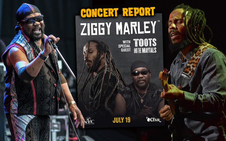 Concert Report: Ziggy Marley and Toots & The Maytals in Costa Mesa, CA 2019
