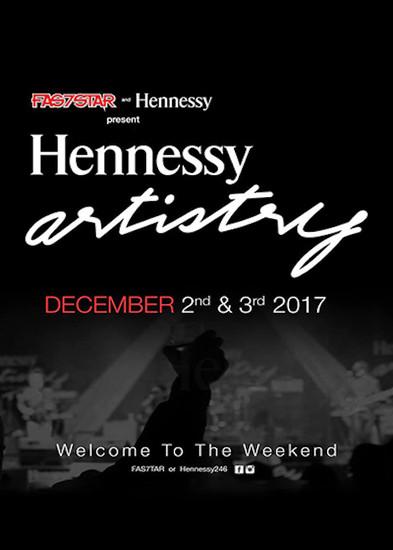 Hennessy Artistry Barbados 2017