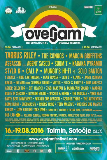 Overjam Reggae Festival 2016