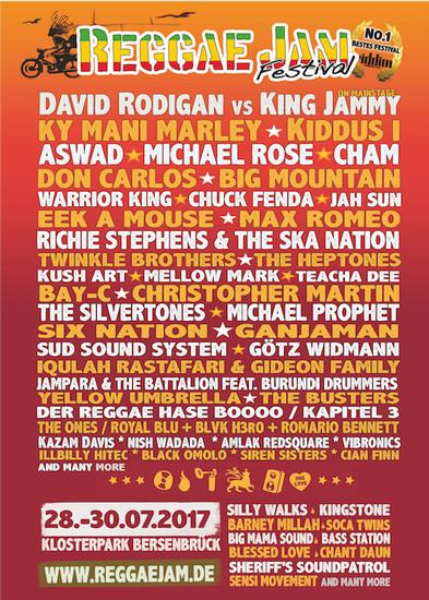 Reggae Jam 2017
