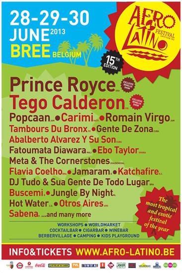 Afro Latino Festival 2013
