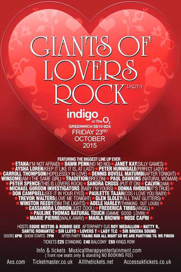 Giants Of Lovers Rock 2015