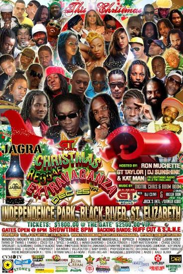 Christmas Reggae Extravaganza 2011