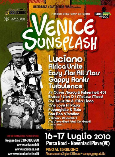 Venice Sunsplash 2010