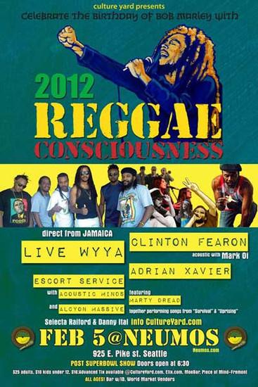 Reggae Consciousness 2012