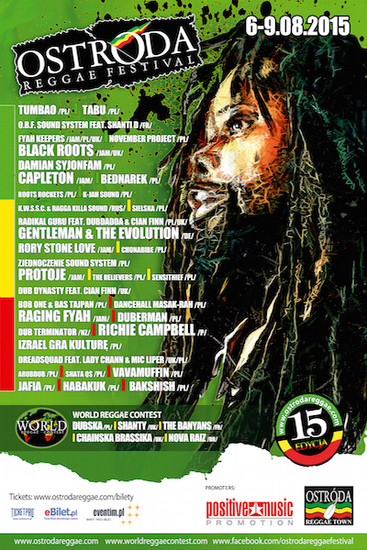 Ostroda Reggae Festival 2015