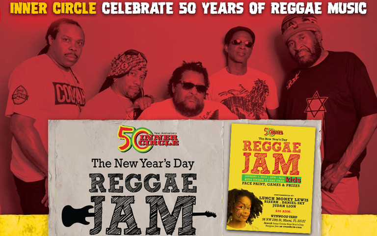 Inner Circle Present The 1st Annual New Year's Day Reggae Jam 2019